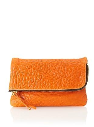 gorjana Women's Perry II Small Clutch (Burnt Orange/Dark Taupe)