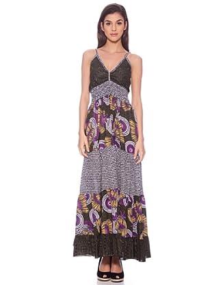 Sigris Vestido Paisley (Multicolor)
