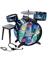 Simba My Music World - Electronic L+S Drum., Black