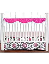 New Arrivals Crib Rail Cover, Ragamuffin in Pink