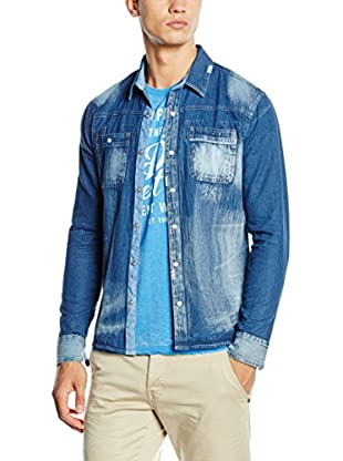 American People Hemd Denim Plantin