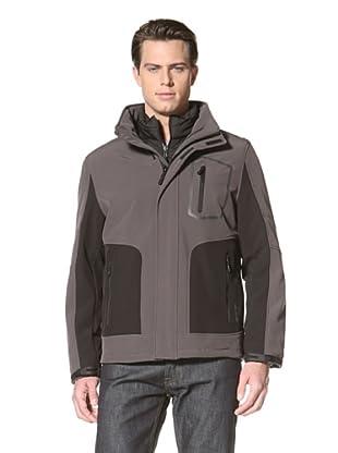 Calvin Klein Men's 3-in-1 Systems Jacket (Smoke)
