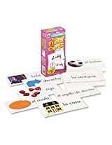 Carson Dellosa Publishing Flash Cards, Everyday Words In Spanish: Photographic, 3w X 6h, 104/Pack