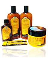 Agadir Argan Oil Daily Moisturizing 4 in 1 Comboset W/hair Treatment 0.25fl
