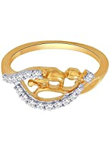 Sangini 18k Two Color Gold and Diamond Ring