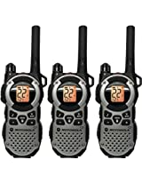 Motorola MT352TPR FRS Weatherproof Two-Way - 35 Mile Radio Triple Pack - Silver