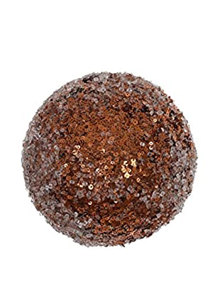 Winward Medium Iced Glitter Ball, Copper