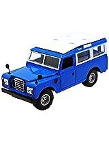 Bburago Land Rover, Blue
