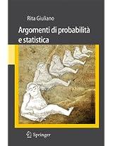 Argomenti di probabilità e statistica (Unitext / Collana Di Statistica E Probabilita Applicata)