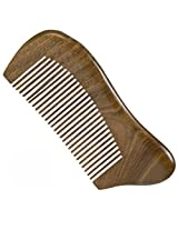No Static Green Sandalwood Comb Detangling Aromatic Natural Fine Tooth