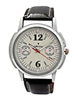 Calvino Men's Black Dial Watch CGAS-1412118-M12_Wht Blk