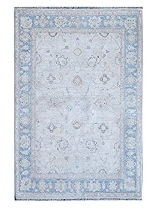 Kalaty One-of-a-Kind Pak Rug, Grey/Blue, 4' 1