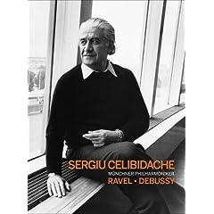 DVD セルジウ・チェリビダッケ指揮ミュンヘン・フィル ドビュッシー&ラヴェル管弦楽曲集の商品写真