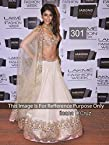 Bollywood Replica Ileana D'Cruz Net Lehenga In Off white Colour NC695
