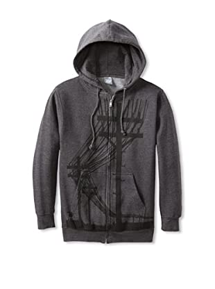 Ames Bros Men's Ill Communication Hoodie (Charcoal)