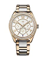 Tommy Hilfiger Analog White Dial Womens Watch - TH1781266/D