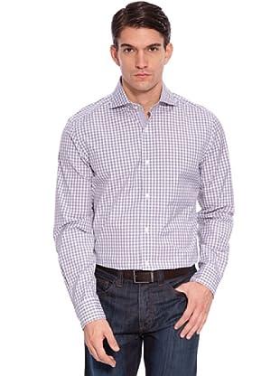 Hackett Camicia Quadri (Grigio/Bianco)