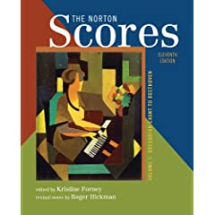The Norton Scores: A Study Anthology : Gregorian Chant to Beethoven