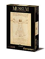 Clementoni Leonardo DaVinci Vitruvian Man Puzzle (500-Piece)