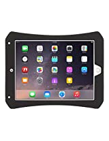 Griffin Survivor CrossGrip for iPad Air 2, Protective Gaming Case with shoulder strap, Ergonomic, Rugged, Black