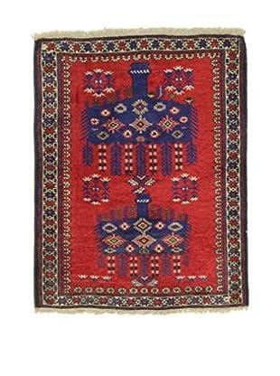 Eden Teppich   Kezil 90X116 mehrfarbig