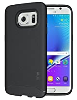 Galaxy S7 Edge Case - TUDIA Ultra Slim Full-Matte ARCH TPU Bumper Protective Case for Samsung Galaxy S7 Edge (Black)