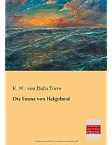 Die Fauna Von Helgoland