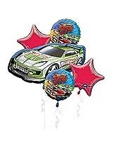 Hot Wheels Balloon Bouquet Party Supplies