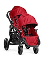 Baby Jogger 2014 City Select Stroller Black Frame WITH Second Seat (Red)