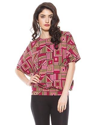 La Casita de Wendy Camiseta Geométrico (negro)