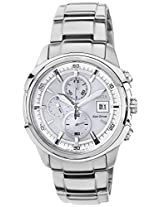 Citizen Eco-Drive Analog White Dial Men's Watch - CA0370-54A