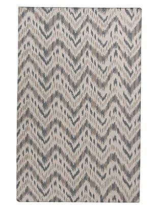 Surya Front Porch Rug, Light Gray/Gray, 8' x 11'