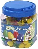 "Miniland 6/8"" (Set Pegs of 200)"