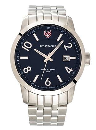 Swiss Eagle Reloj Field Major azul