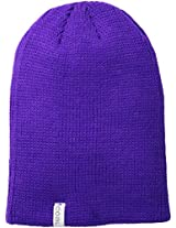 Coal Men's Frena Solid Unisex Beanie, Purple, One Size
