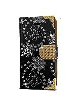 Diamond wallet Shining Flower - iPhone 5S Case