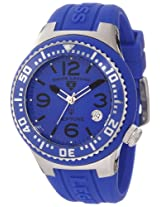 Swiss Legend Watches, Neptune (44 mm) Blue Dial Blue Silicone, Model 11044P-03-BLB