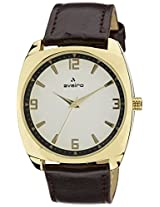 Aveiro Casual Analog White Men's Watch (AV61WHTGL)