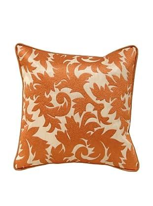 Palecek Scroll Pillow (Orange)