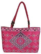 Fashiondrobe Women's Handbag (Pink)