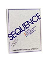 Original Sequence Board Game Includes Bonus Deck Of Cards!