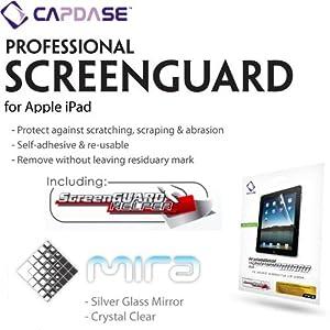 CAPDASE iPad mira 'Gold Glass Mirror' 「ゴールド・グラス・ミラー」 液晶保護シート SPAPIPAD-MG