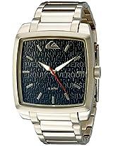 Quiksilver Analog Black Dial Men's Watch - QS-1009-BKGP