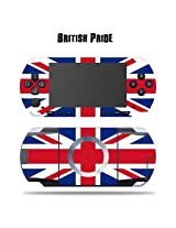 Mightyskins Protective Vinyl Skin Decal Cover Sticker For Sony Psp British Pride