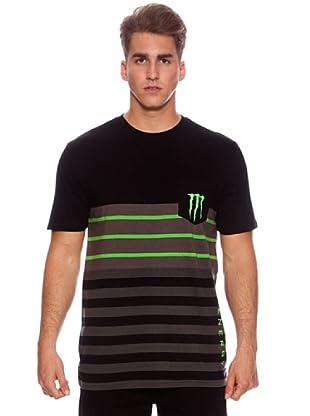 Monster Energy Camiseta Junction (Negro)