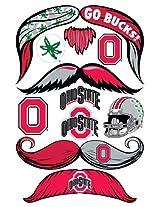 StacheTATS Ohio St. Temporary Mustache Tattoos