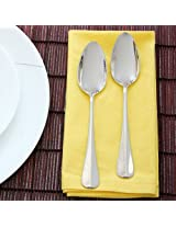 Baguette Dessert Spoon Set of Six Pieces from WMF