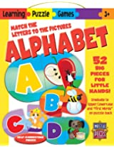 MasterPieces / Learning Games Alphabet 52-piece Matching Puzzle