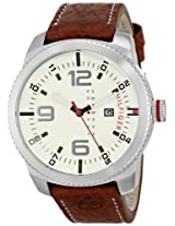 Tommy Hilfiger Men's 1791013 Analog Display Quartz Brown Watch