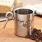 Hot Muggs Be Mine Stainless Steel Double Walled Mug, 350ml